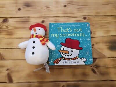 That's Not My Snowman Book and Toy - 1