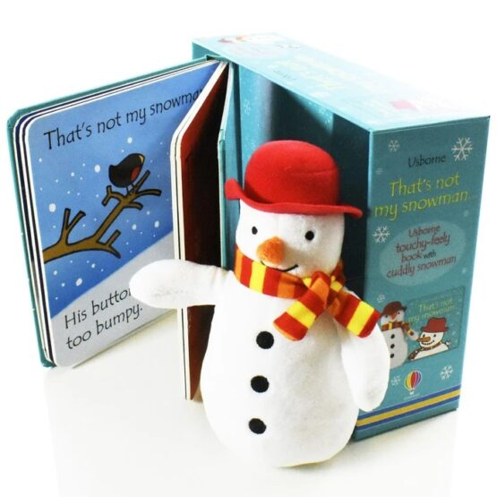 That's Not My Snowman Book and Toy - 3