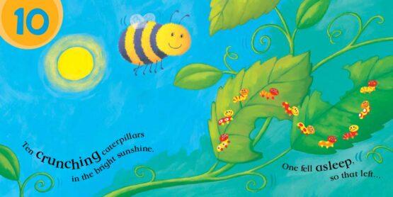 Ten Wriggly Wiggly Caterpillars 3