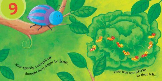 Ten Wriggly Wiggly Caterpillars 1