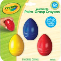 Crayola My First Palm Grasp Washable Crayons (3 Piece)