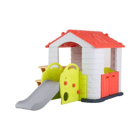 Edu Play House with Slide – Coral