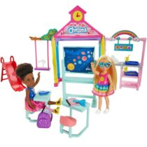 Barbie Club Chelsea Doll And School Playset