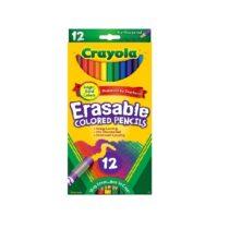 Crayola Erasable Colored 12 Pencils