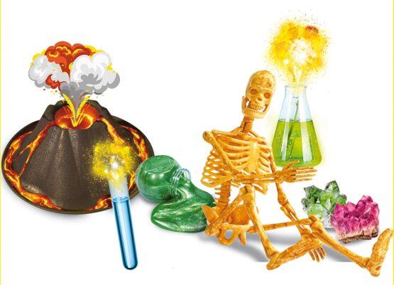 Lisciani Crazy Science The Mad Scientist's Big Laboratory
