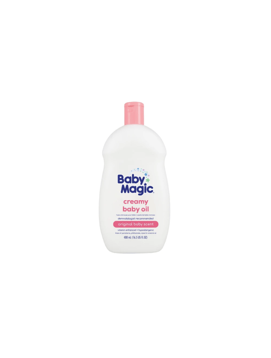Baby Magic Creamy Baby Oil – 488Ml