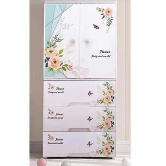 Duytan White Plastic Cabinet TN-240