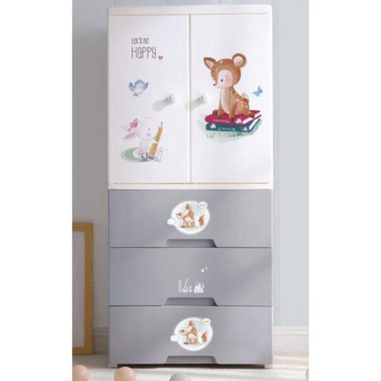 Duytan Multicolor Plastic Cabinet TN-260