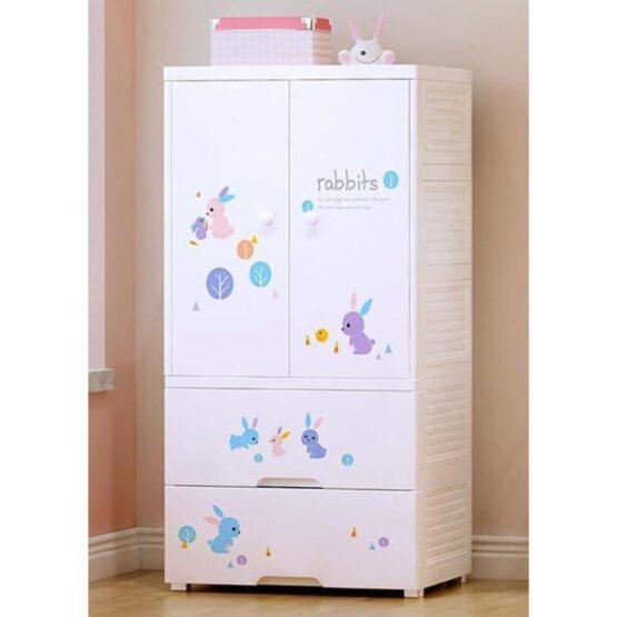 Duytan White Plastic Cabinet TN-340