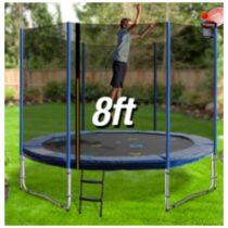 Safest 08 Foot Trampoline