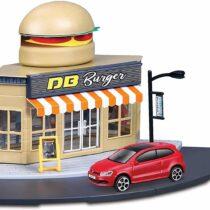Bburago 1:43 City Fast Food Set