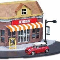 Bburago 1:43 Street Fire City Kiosk Store