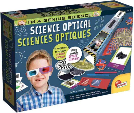 Lisciani Genius Illusions & Optical Science