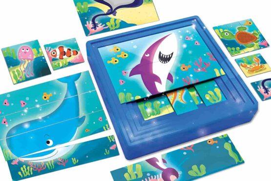Lisciani Carotina Baby Progressive Puzzle The Sea