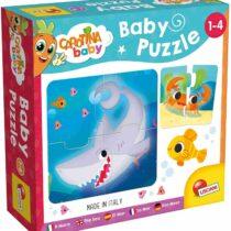 Lisciani Carotina Baby Puzzle For Kids, Sea Animals