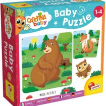 Lisciani Carotina Baby Puzzle For Kids, Forest Animals