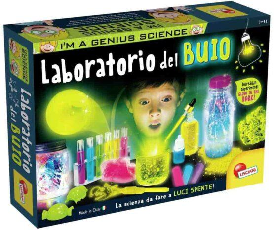 Lisciani Giochi- I'm a Genius Science in the Dark Educational Game