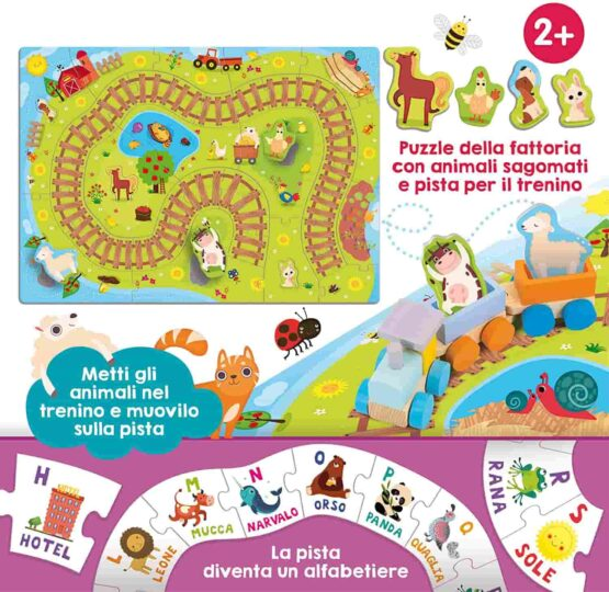 Lisciani Baby Carotina Little Toy Train