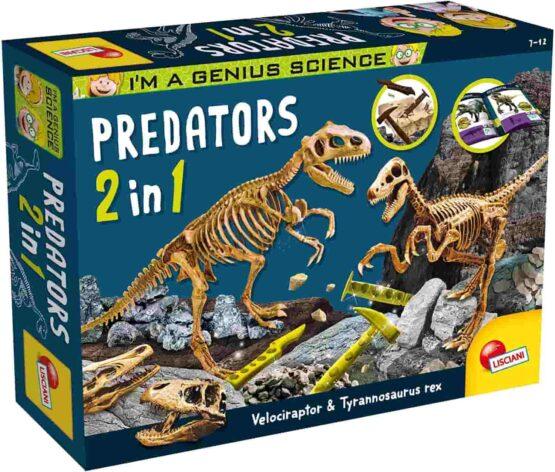 Lisciani I'm a Genius Predators 2 in 1