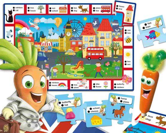 Lisciani Games Talking Pen Carotina Goes To London Preschool