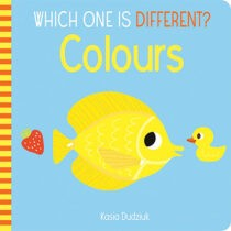 Which One Is Different? Colours