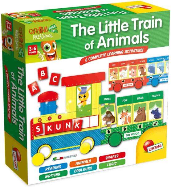 Lisciani Carotina Plus The Little Train Of Animals