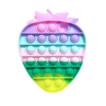 Pop It Push Pop Bubble Fidget – Strawberry