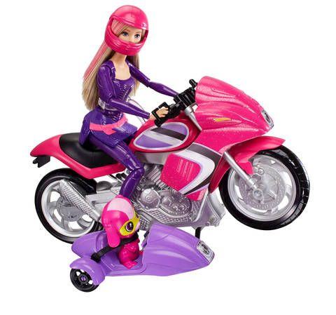 Barbie Secret Agent Spy Squad Motorcycle