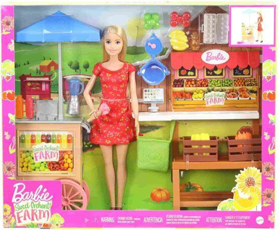 Barbie Sweet Orchard Farm Playset