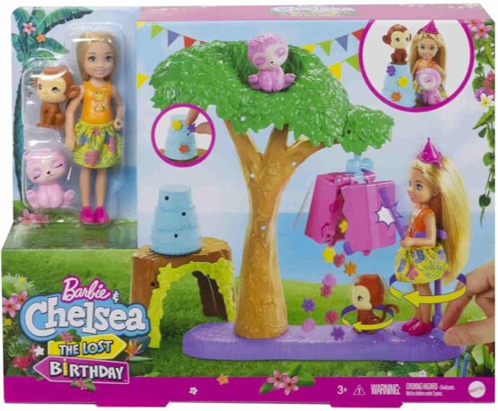 Barbie and Chelsea The Lost Birthday Party Fun Playset