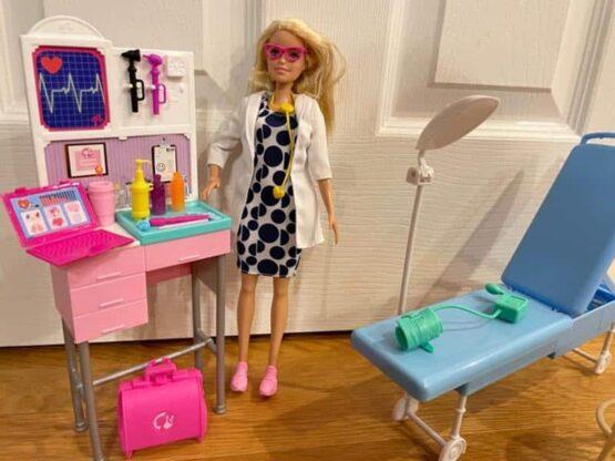 Barbie Medical Playset Doll
