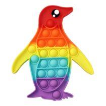 Pop It Push Pop Bubble Fidget – Penguin